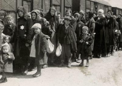 Selezione sulla rampa di Auschwitz 1944