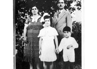 La famiglia Modiano - 1935