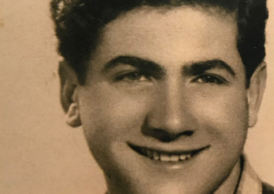Sami Modiano a Ostia -1946