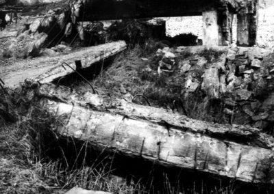 Birkenau resti del forno crematorio