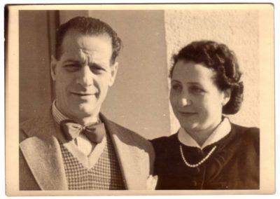 Bruno Paggi e Milena Sermoneta
