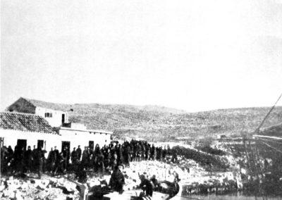 Sbarco della Prima Brigata d'Oltremare Dalmazia – 1943