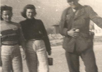 Nori Brambilla nel Lager di Bolzano 1945