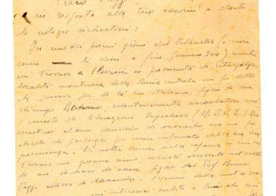 1946 – 2002 la lettera ritrovata