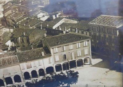 l'Albergo Posta alloggiò dal 1941 al 1943 gli internati ebrei Sauro Rottenstreich, Hana Tempel e Israel Hirschhorn. Archivio Liano Crema