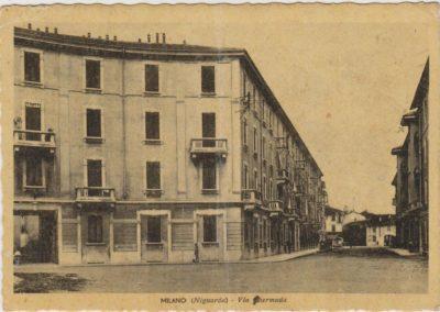 via Hermada, Milano. Il quartiere della Resistenza
