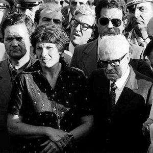 Franca Rampi con il Presidente della Repubblica Sandro Pertini