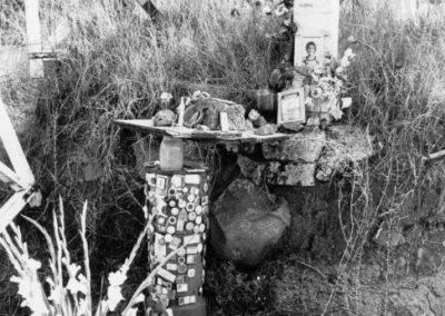 Il luogo della morte di Alfredino dopo la tragedia