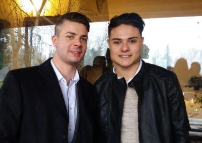 Gabriele e il fratello Giovanni